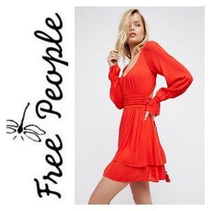 NWT Free People Much Ado Mini Dress